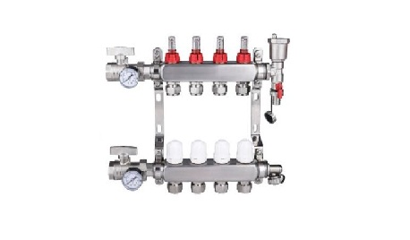 不锈钢地暖分水器的价格及其影响因素