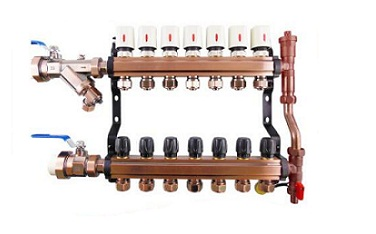厨房地暖分水器的工作原理