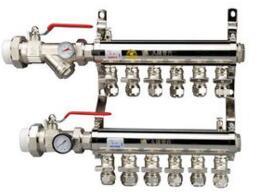 分水器生产厂家怎样对地暖分水器分类