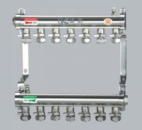 康腾G001款工程专用铜40方分水器