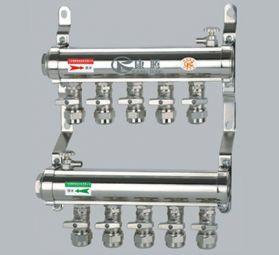 康腾C017款铜活接式电镀分水器